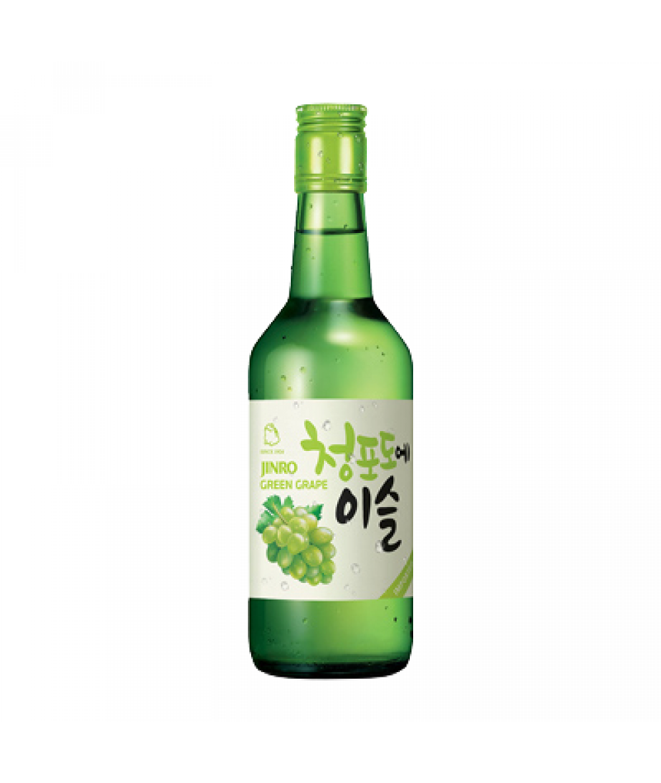 *Jinro Soju Green Grape 360ml