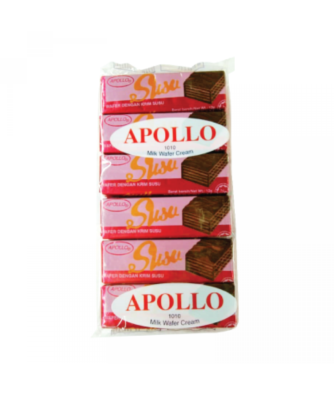 Apollo Milk Wafer Cream 12g*12s
