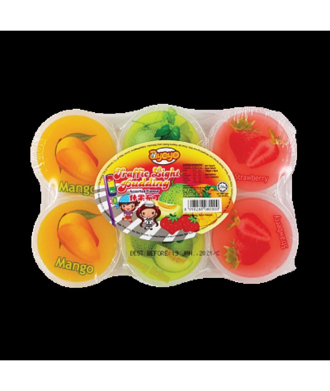 Ayoyo Mix Fruits Pudding 120g
