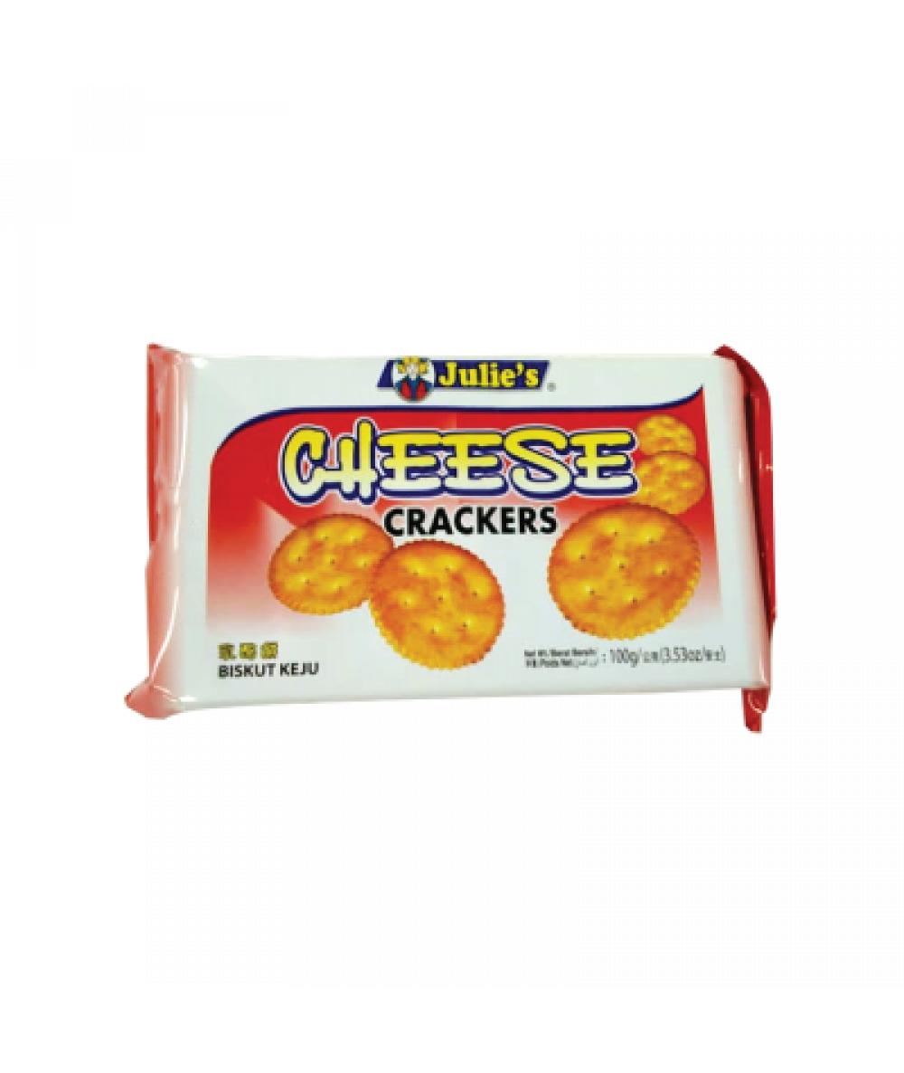 Julie's Cheese Crackers 100g