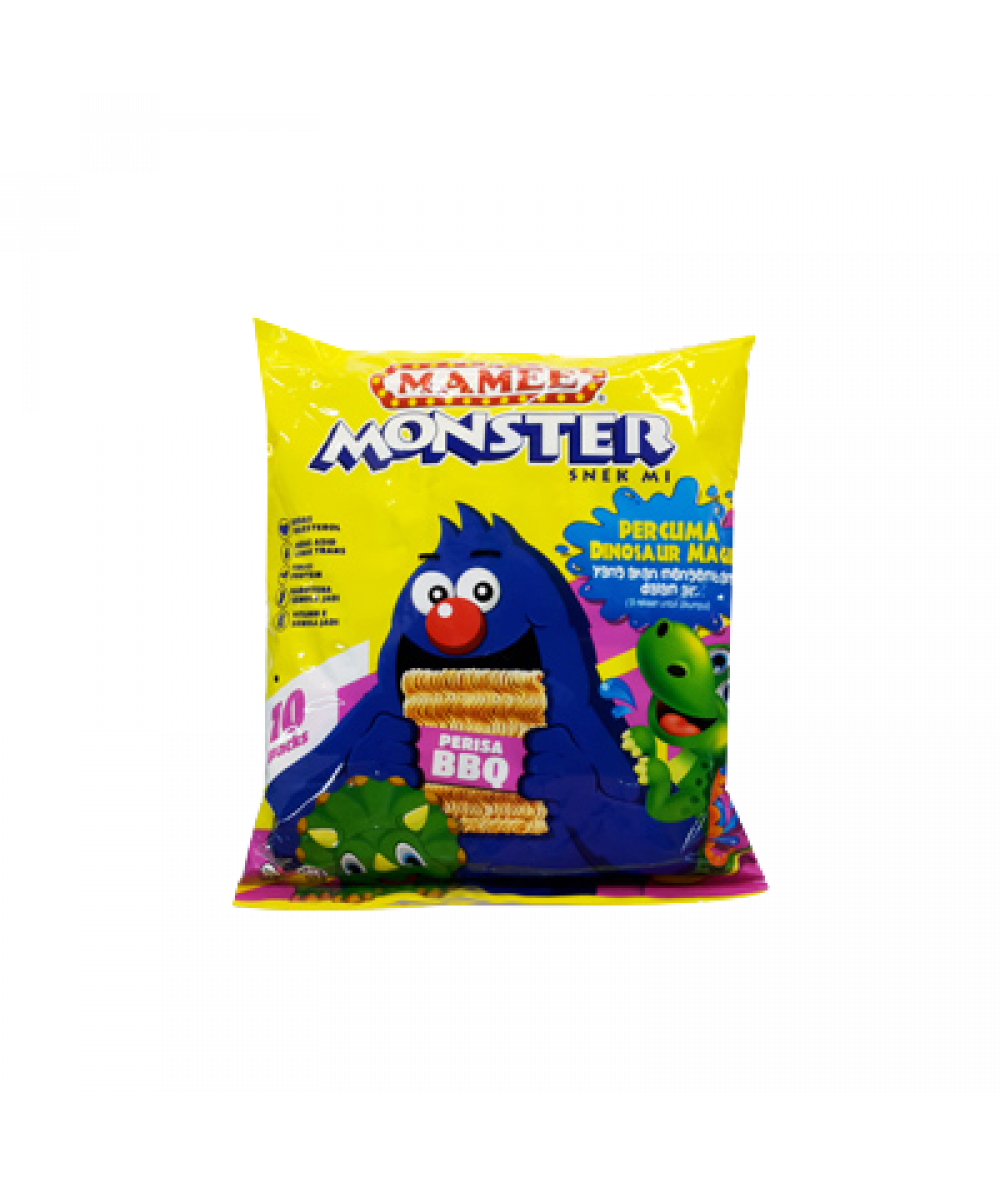 Mamee Monster BBQ 25g*8's