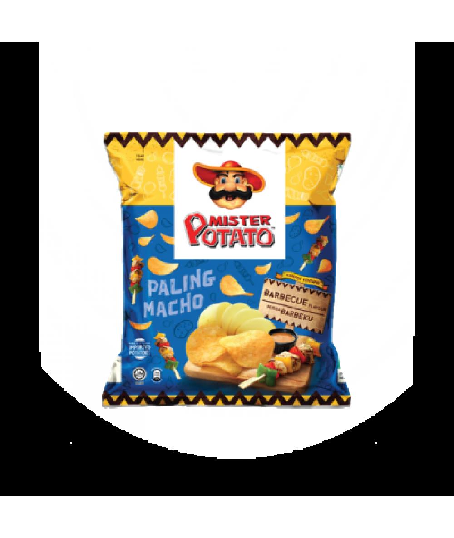 Mr Potato Chips BBQ 75g