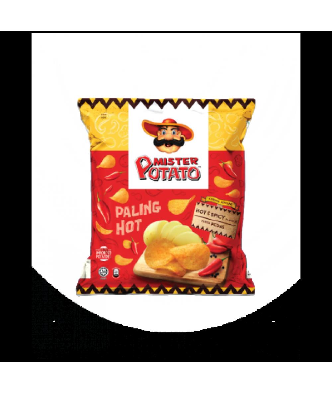 Mr Potato Chips Hot & Spicy 75g