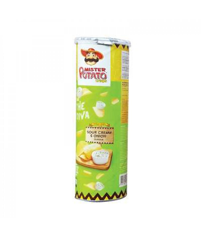 Mr Potato Crisps Cream&Onion 150g
