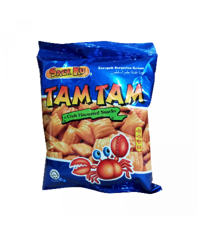 Snekku Tam Tam Crab Flavoured Snacks 80g