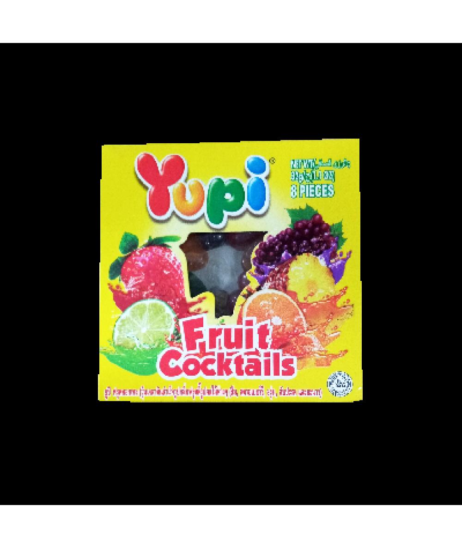 Yupi Fruit Cocktails 32g