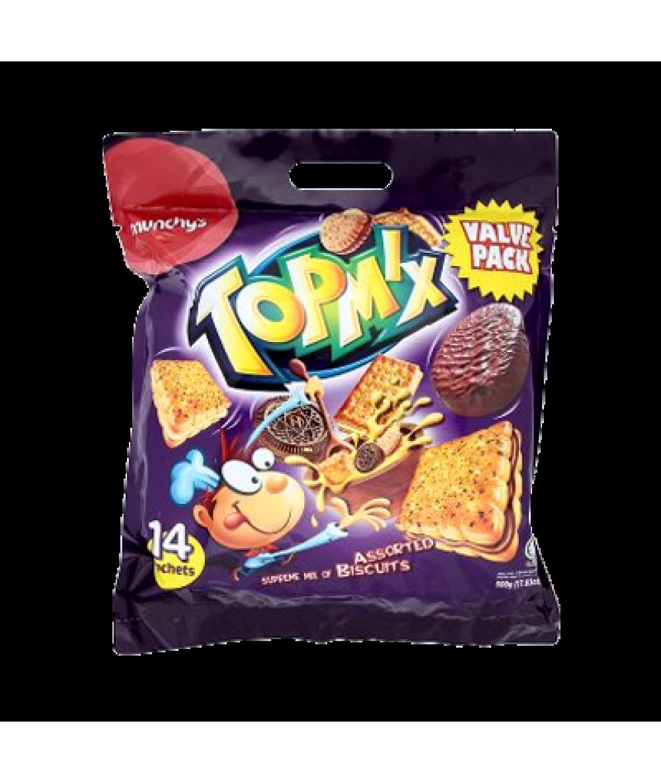 Munchys Topmix Assorted 500g