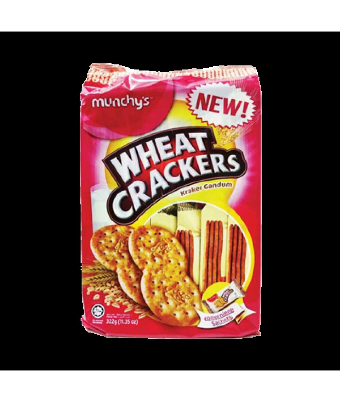 Munchy's Wheat Crackers 322g