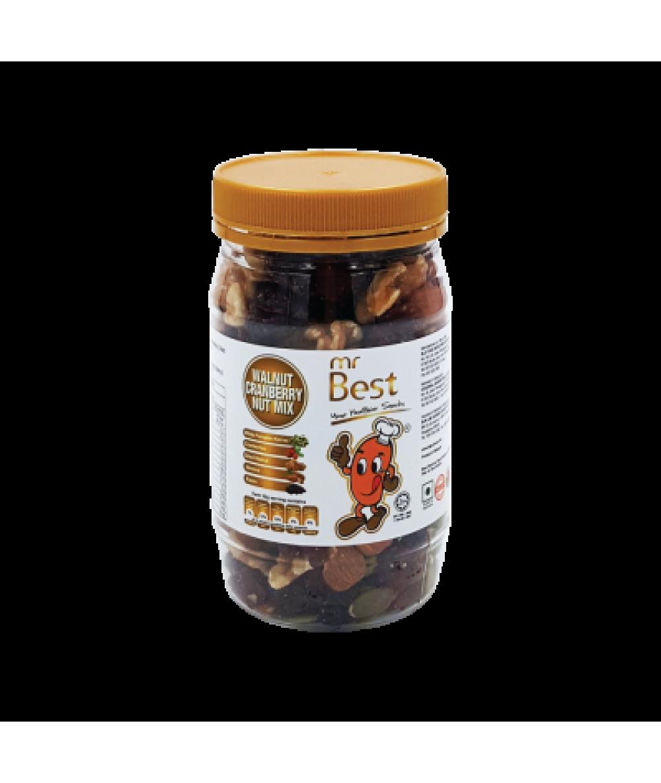 Mr Best Walnut Cranberry Nuts Mix 170g