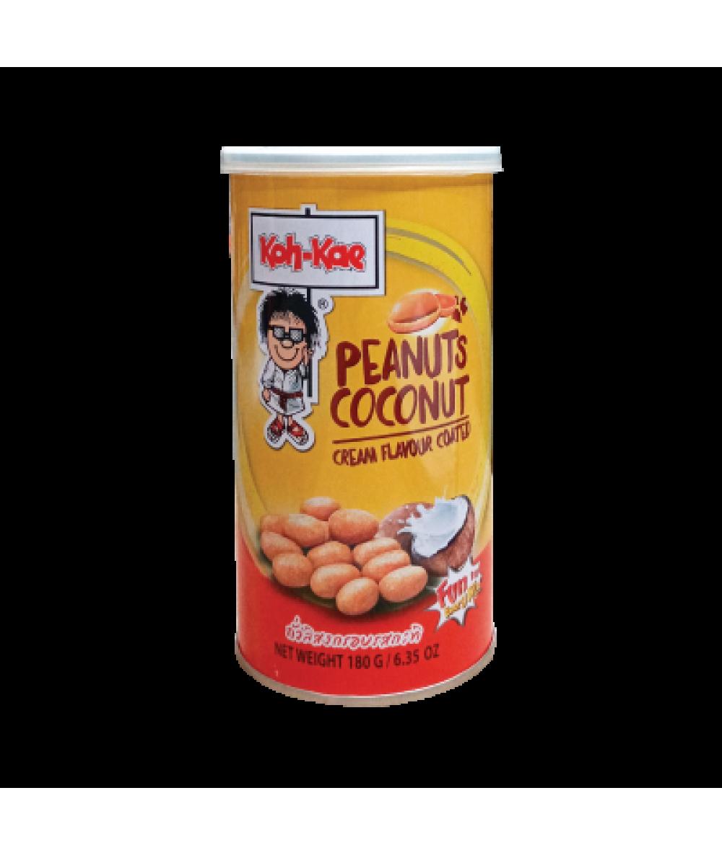 *Koh-Kae Coated Peanuts Coconut Flv 180g