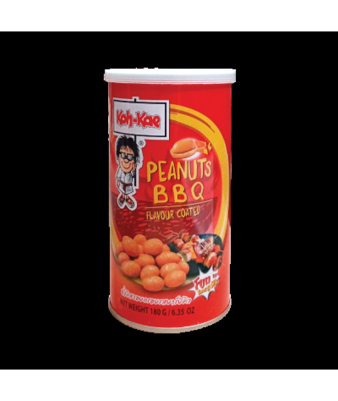 *Koh-Kae Coated Peanuts BBQ Flv 180g