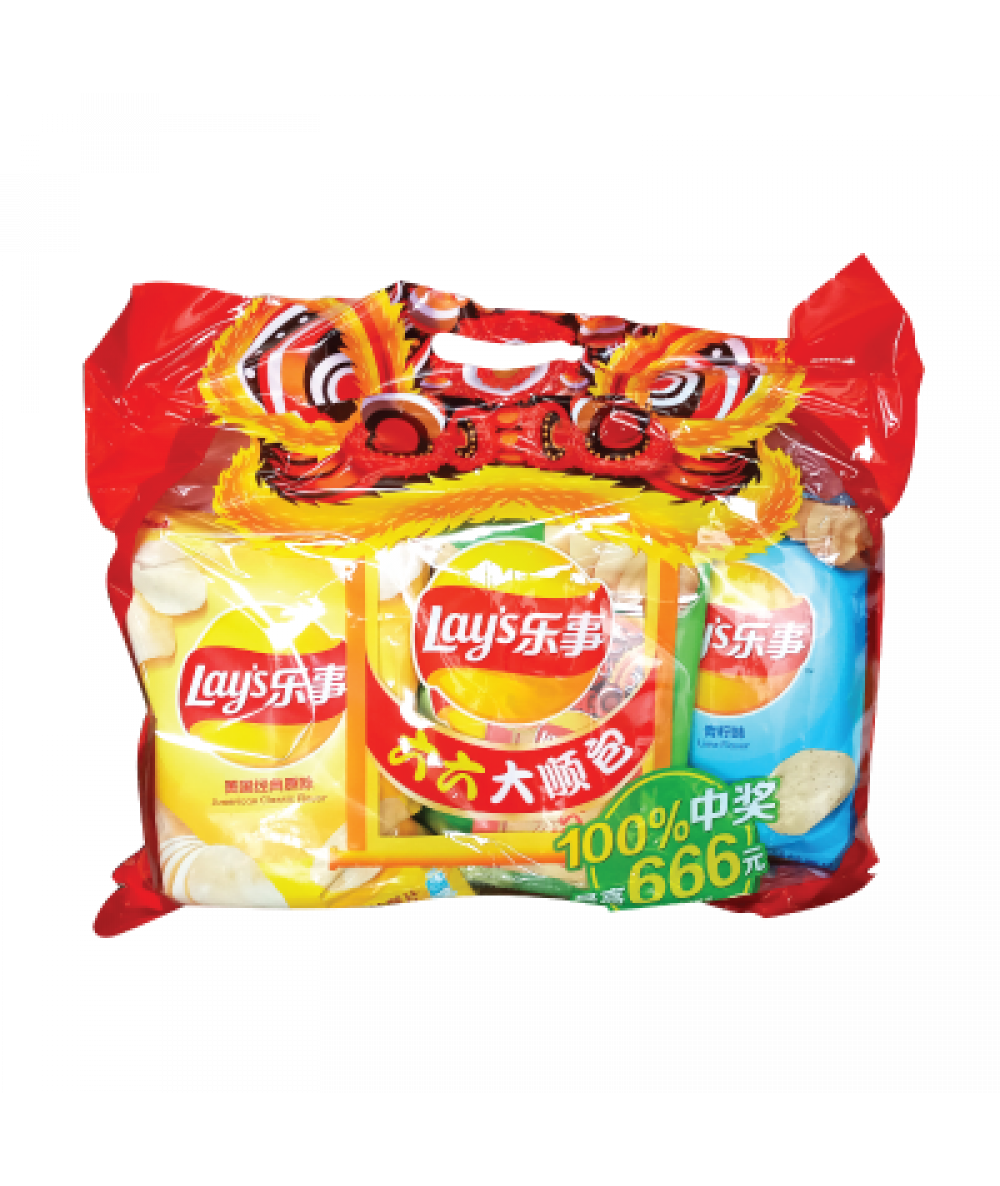 *Lays CNY Party Bag 210g