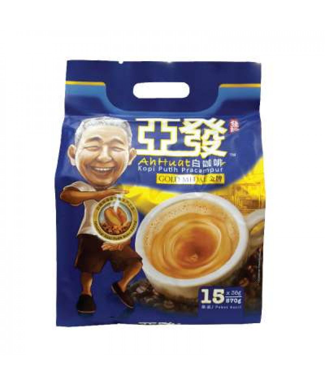 Ah Huat White Coffee Gold Medal 38g*15's