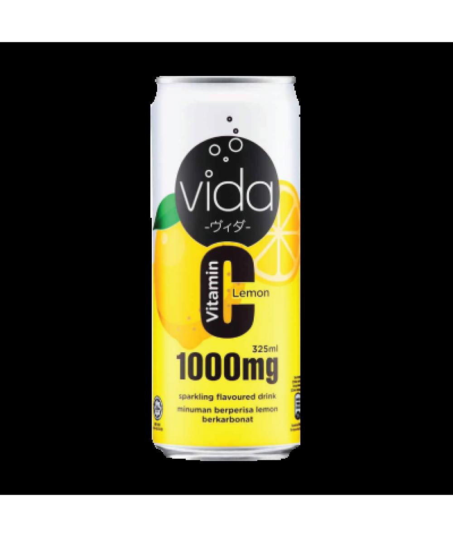 *Vida C Lemon Can 325ml