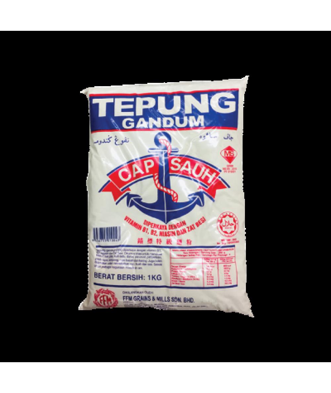 Cap Sauh Tepung Gandum1kg 面粉