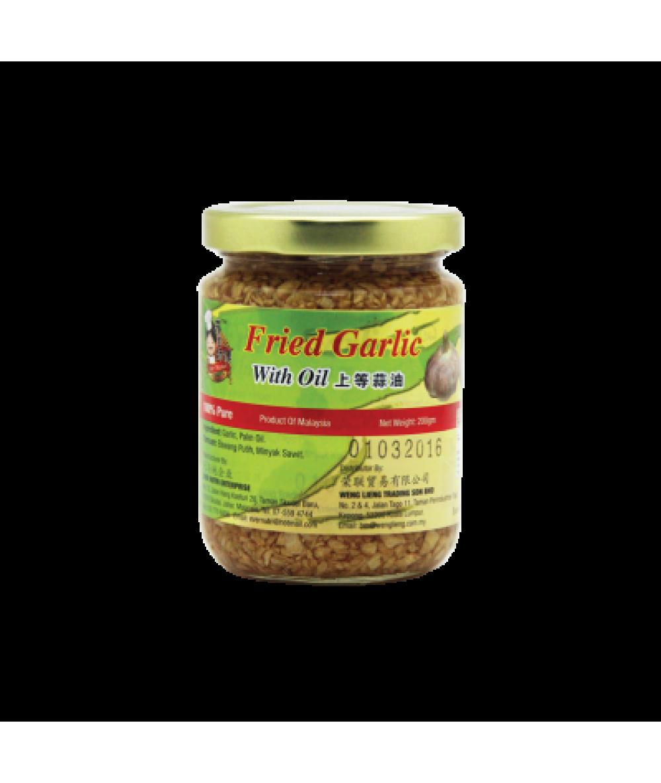 Five Star Master Fried Garlic W/Oil 200g