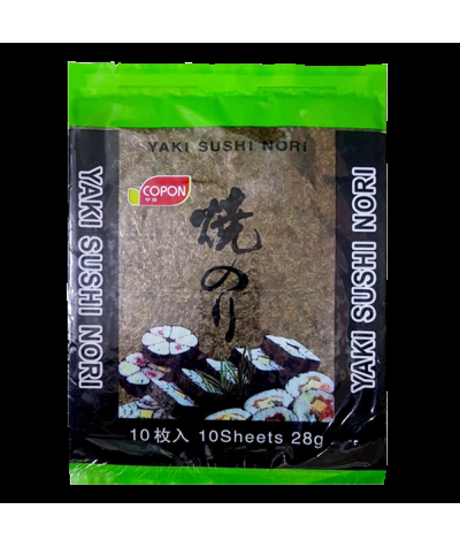 *Copon Yaki Sushi Nori Roasted Seaweed 28g*10s