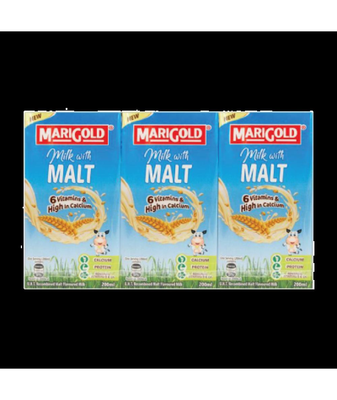 Marigold UHT Malt 200ml*3s