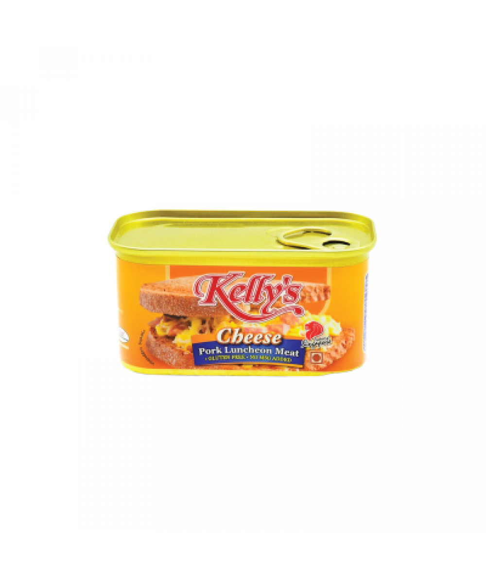 *Kelly Pork Luncheon Meat Cheese 200g