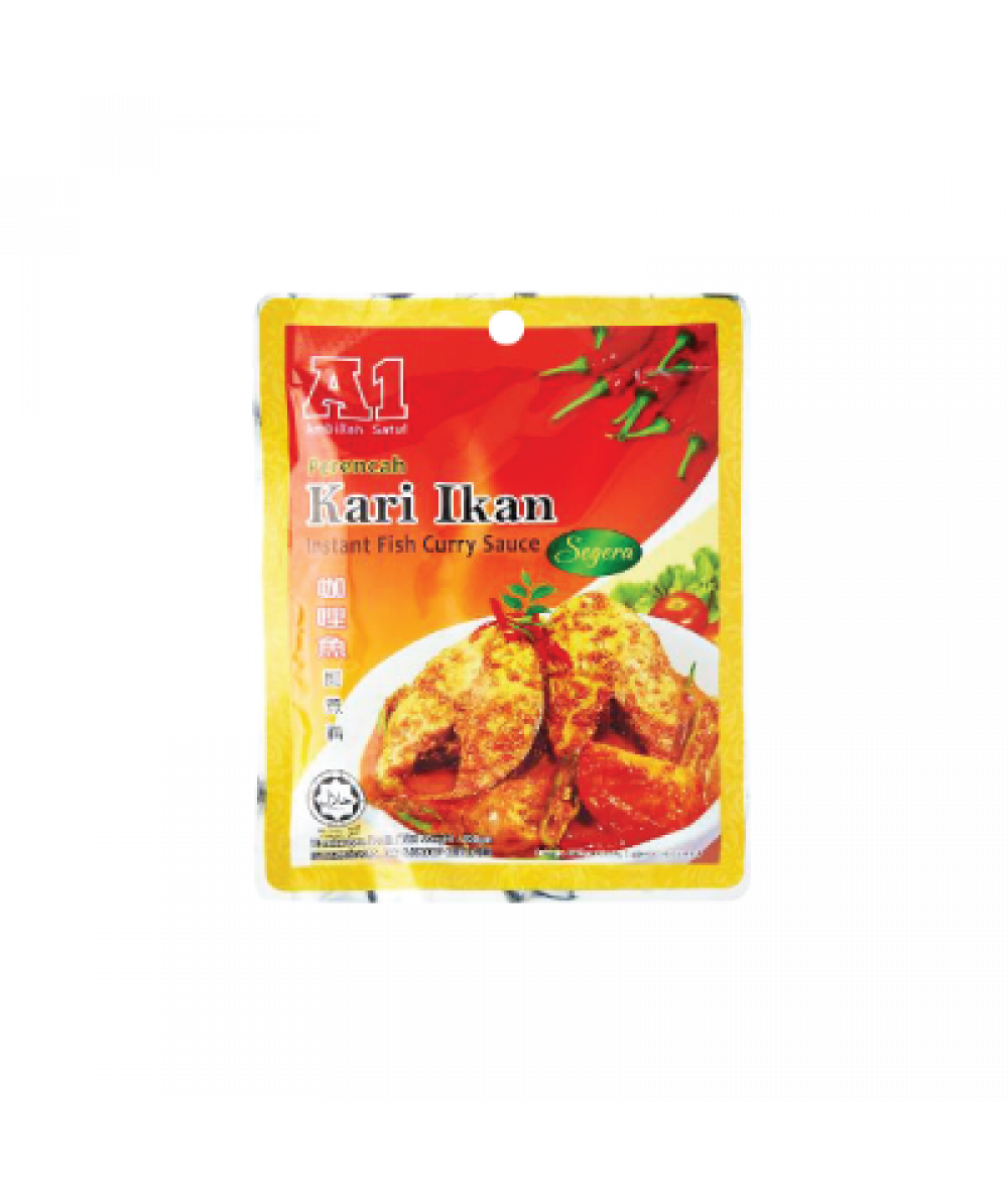 A1 Instant Fish Curry Sauce 200g