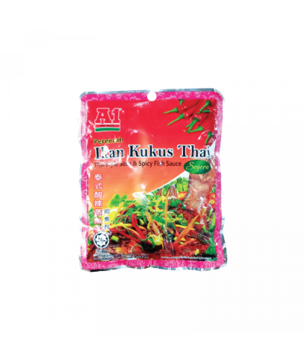 A1 Instant Thai Style Sour & Spicy Fish Sauce 180g