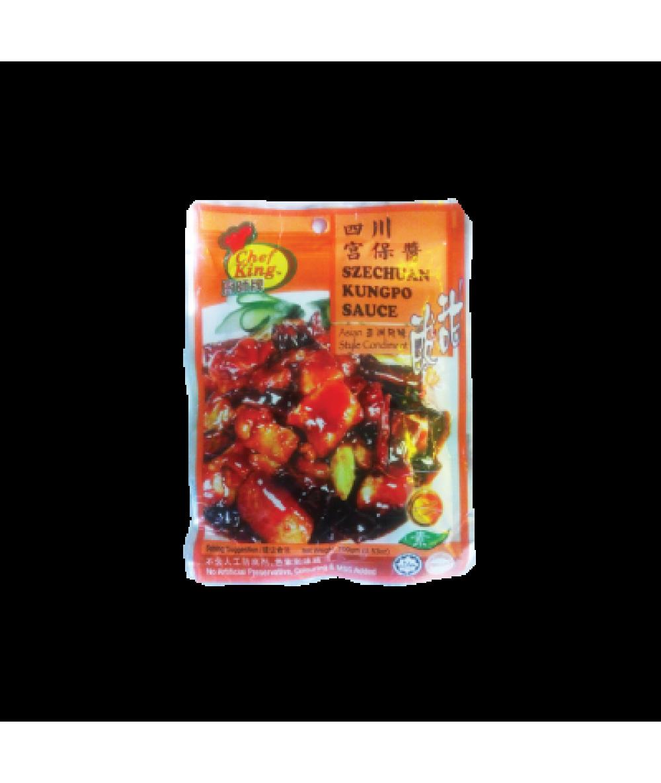 Chef King Sze Chuan Kung Po Sauce 100g