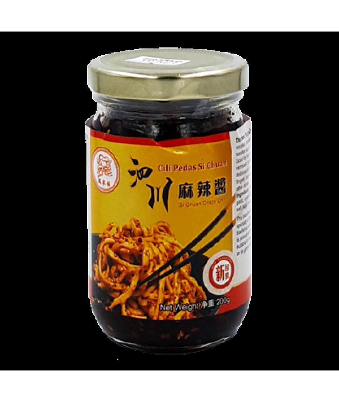 *Chef Man's Si Chuan Crispy Chilli 200g