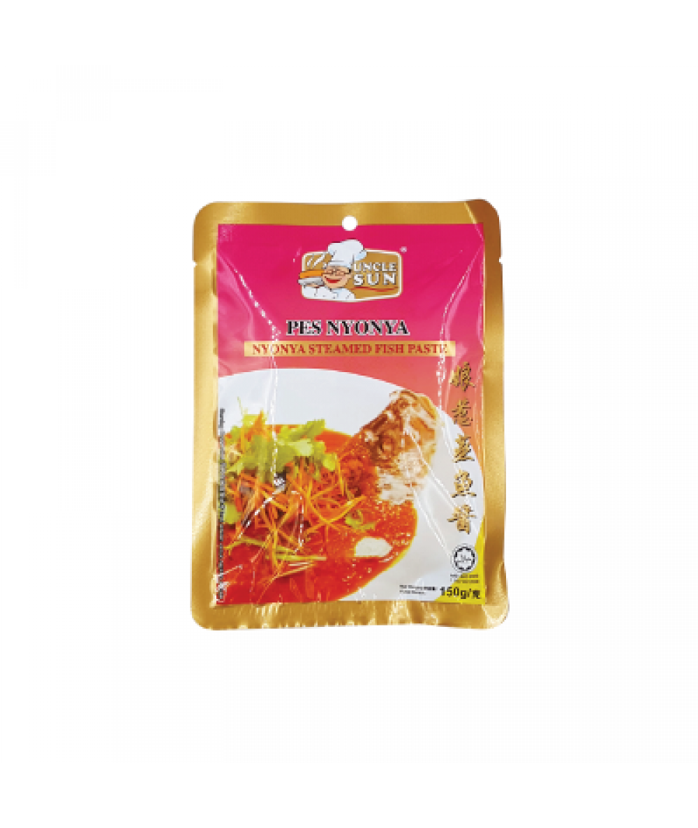 *Uncle Sun Nyonya Steamed Fish Paste 150g