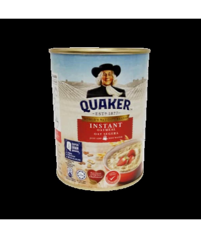 *Quaker Oatmeal Instant Foil Red Tin 400g