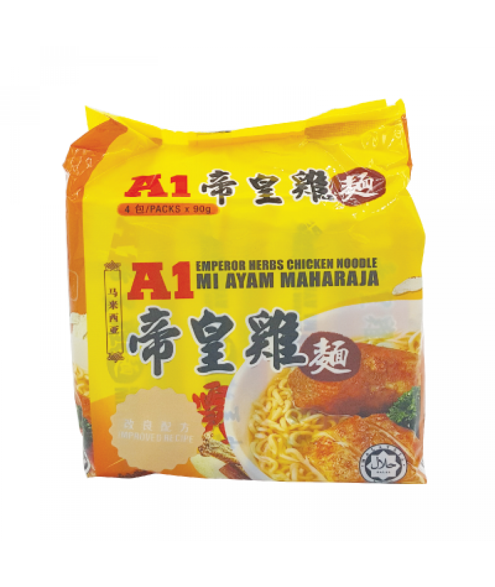 A1 Emperor Herbs Chick Spices Noodle 90g