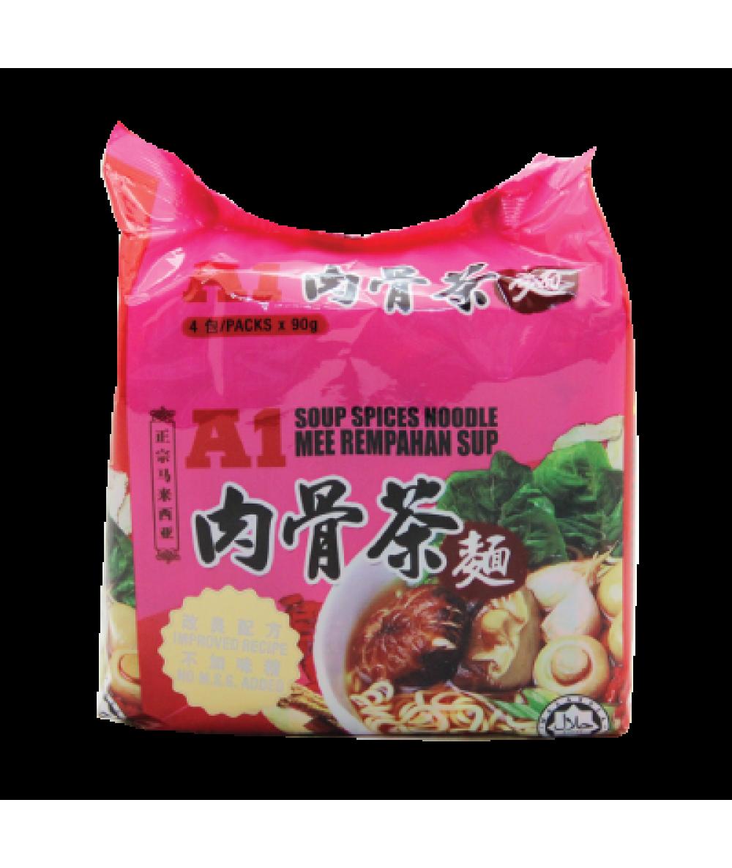 A1 Bak Kut Teh Noodles 90g*4s