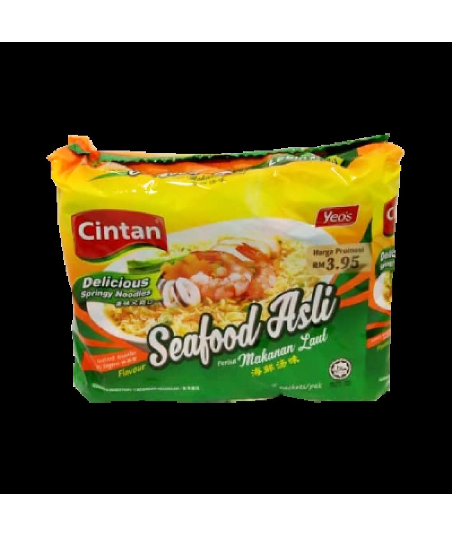 Cintan Mee Seafood Asli 75g*5's