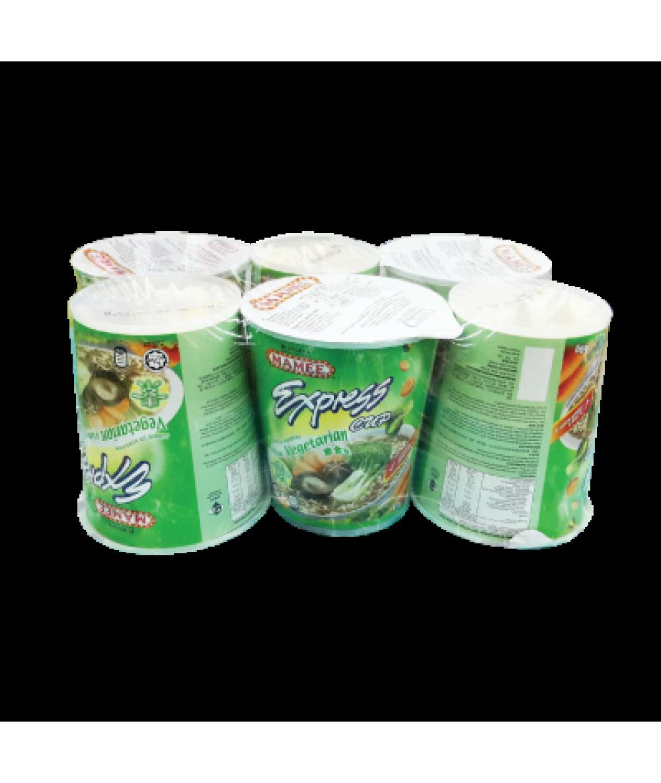 Mamee Express Cup Vegetarian 60g*6's