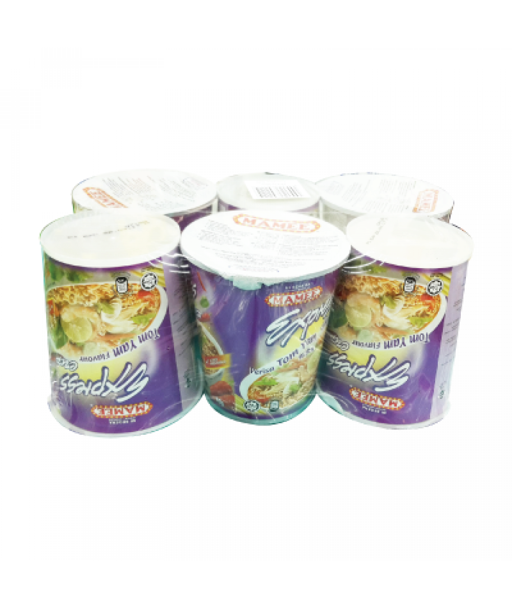 Mamee Express Cup Tom Yam 60g*6's