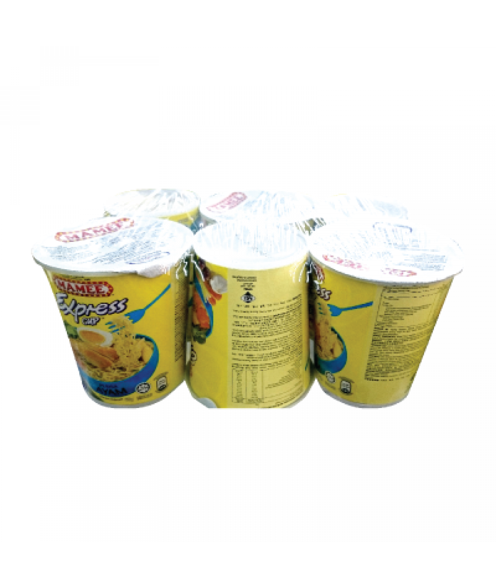 Mamee Express Cup Chicken 60g*6's