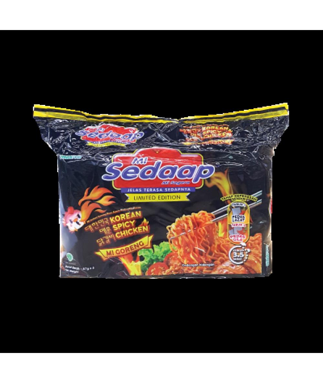 Mi Sedaap Korean Spicy Chicken 87g*5