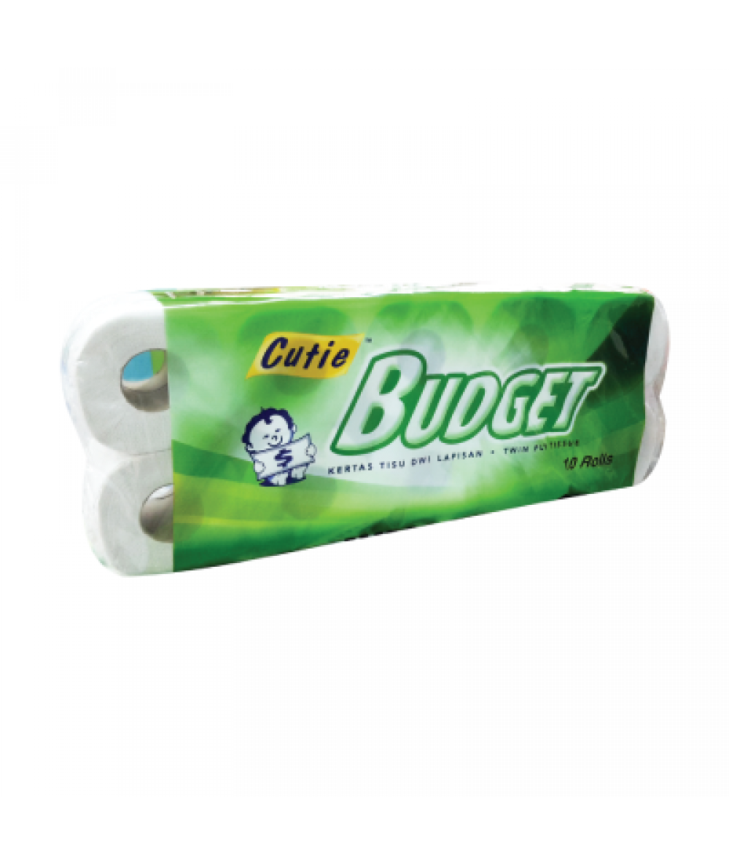 Cutie Budget Toilet Roll 10'R
