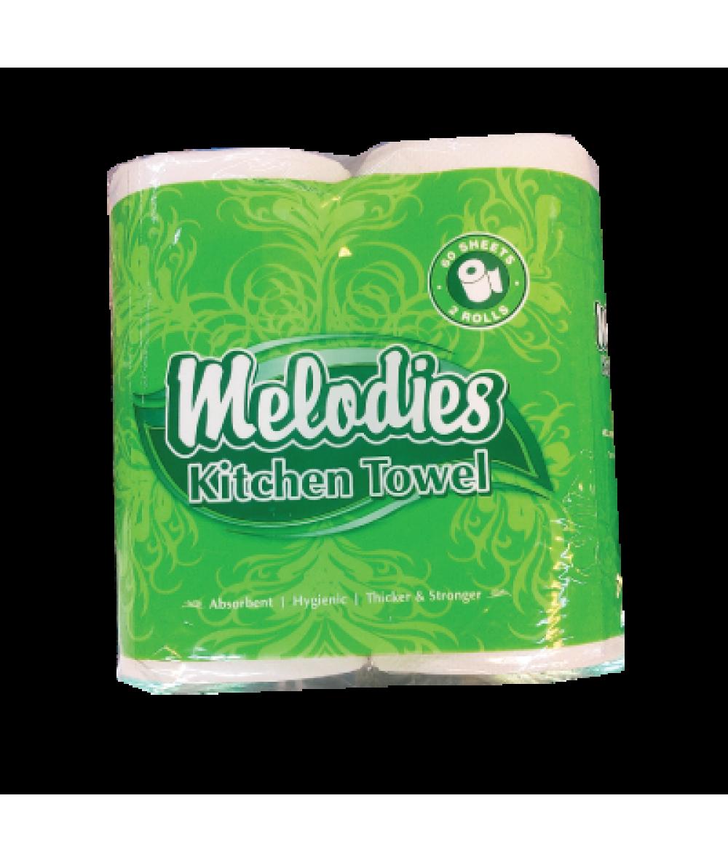 Melodies Kitchen Towel 2*60s