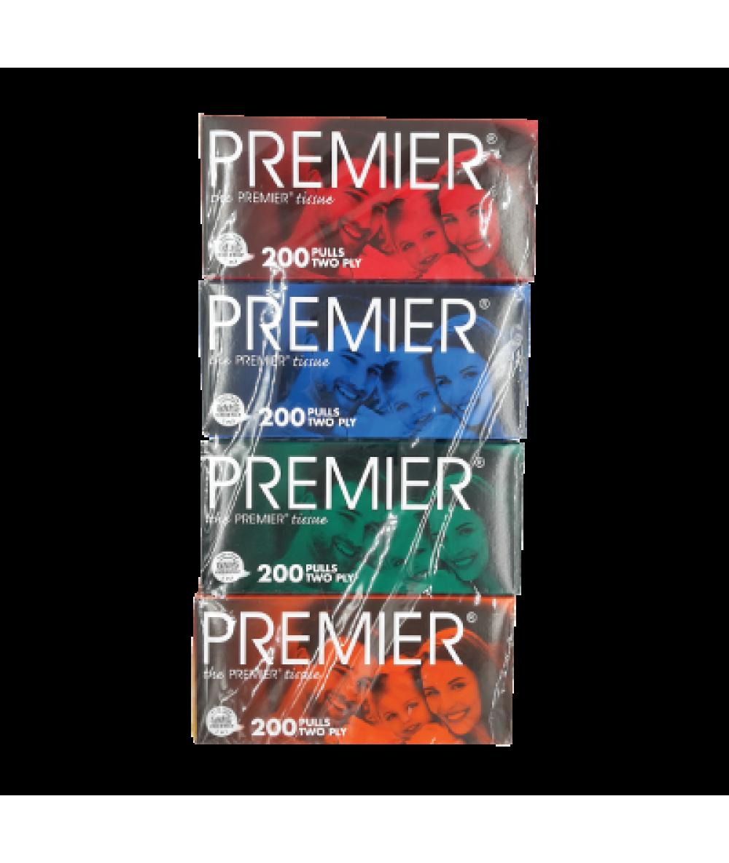 Premier Facial Tissue 4*200's