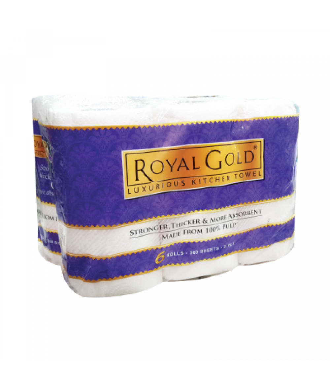 Royal Gold Kitchen Towel 8'R