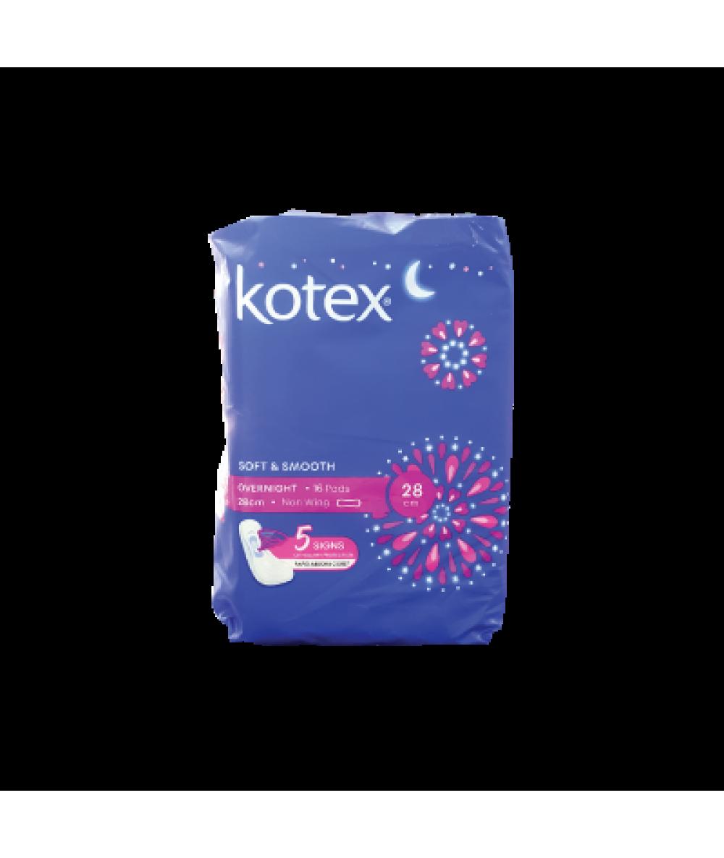Kotex Overnight 28cm Non Wing