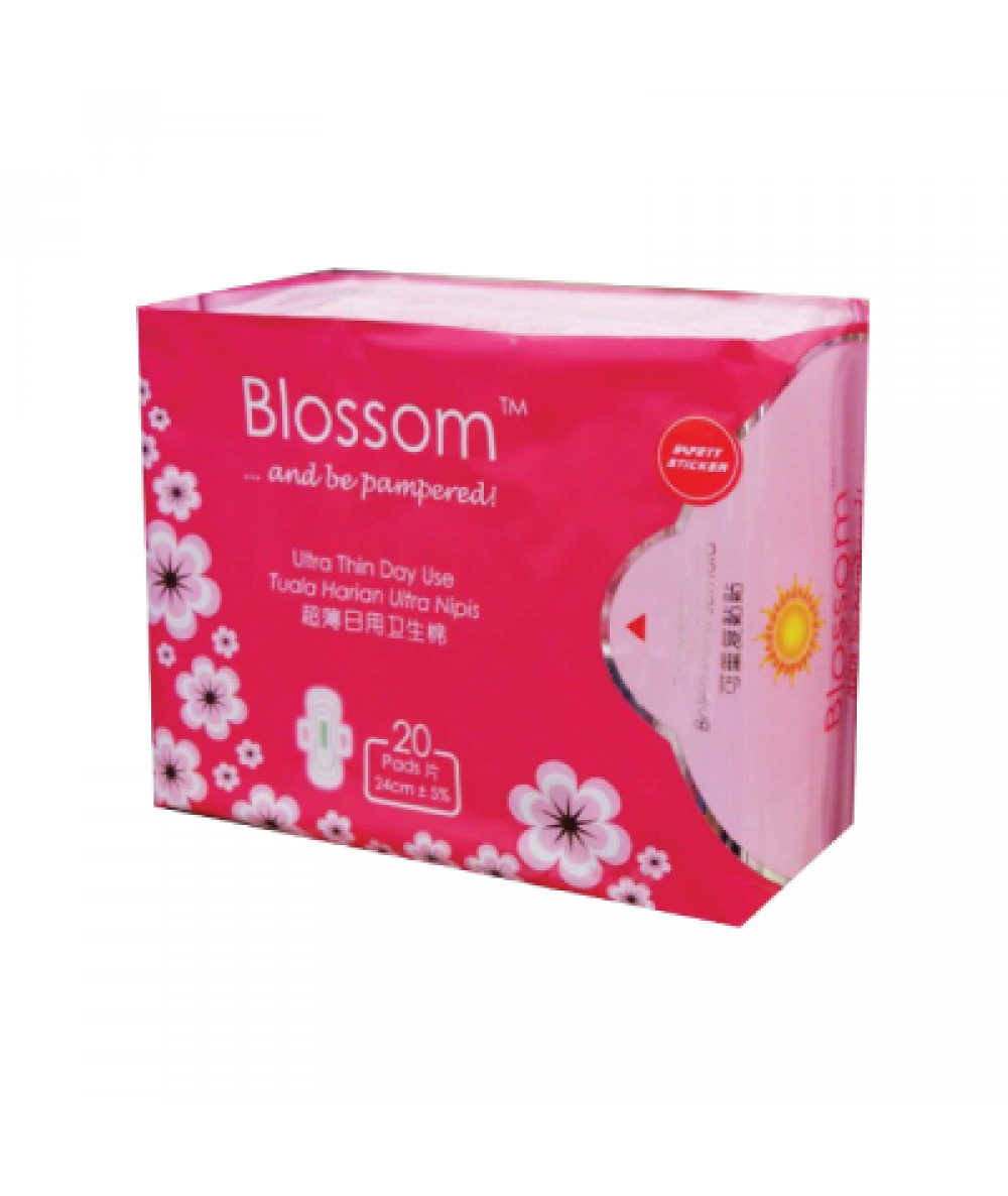 Blossom Day Use Ultra Thin Wing 20s