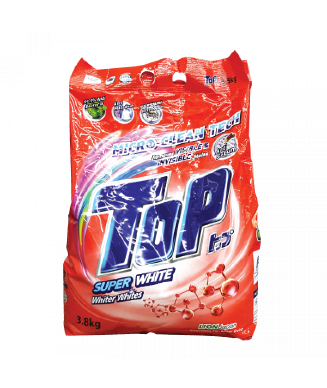 Top Powder Detergent Super White 3.8kg