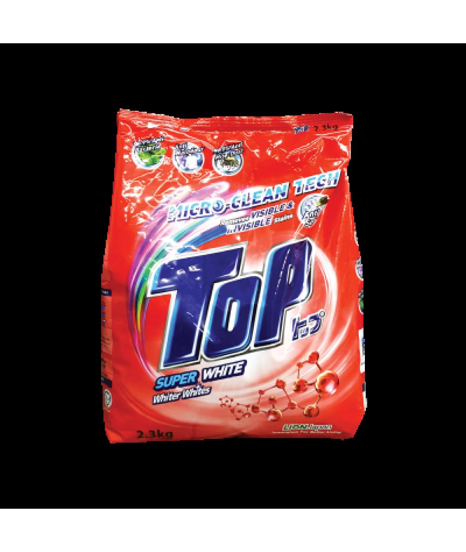Top Powder Detergent Super White 2.3Kg