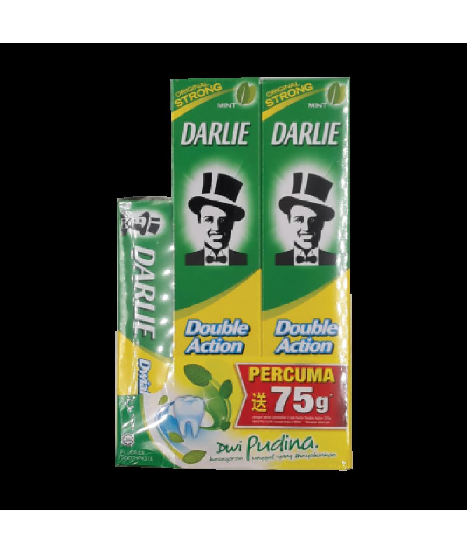 Darlie Double Action 225g*2s FOC 75g
