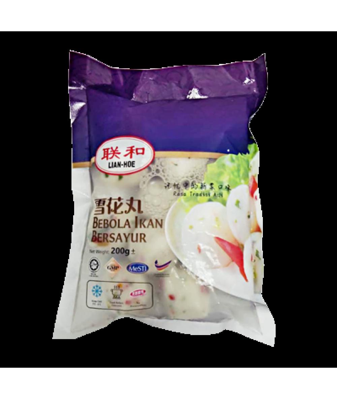 QL N3 Fresh Vege Fish Ball 3号花丸 200g