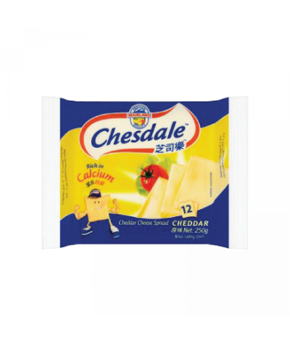 Chesdale Cheese 12's 250g