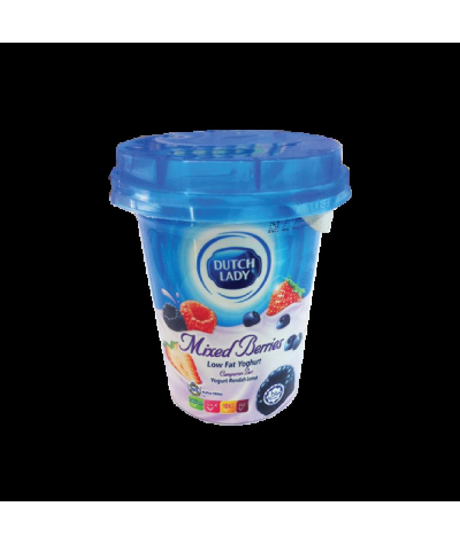 DL Low Fat Yogurt Mixed Berries 140g