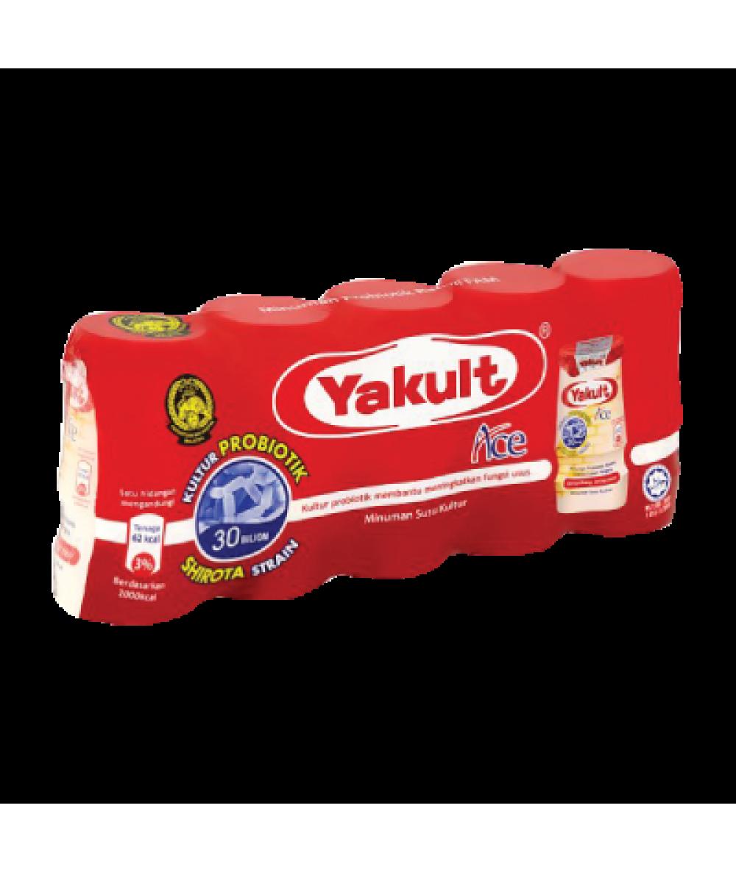 Yakult Cultured Milk 80ml*5's