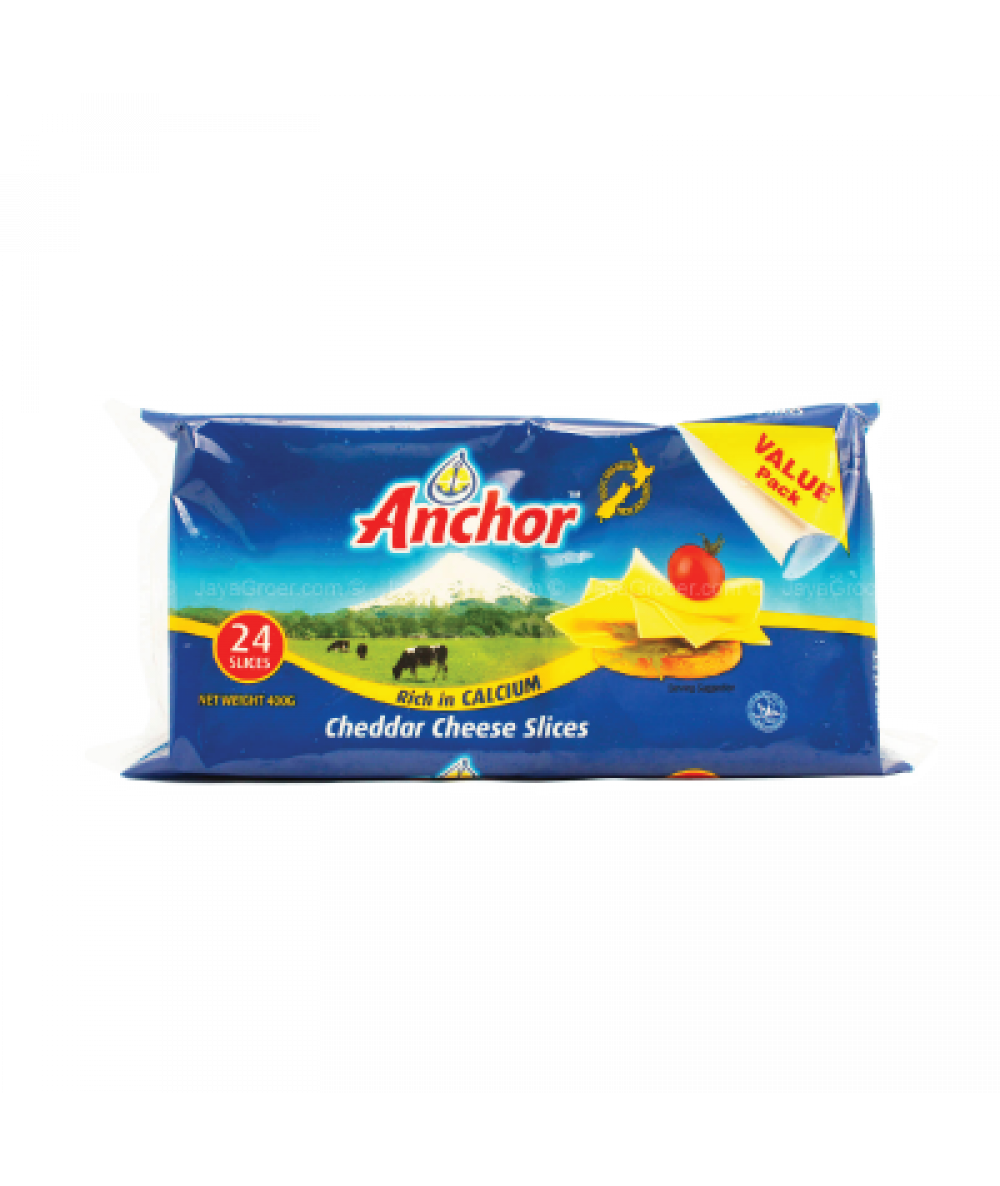 Anchor Cheese 24's 400gm